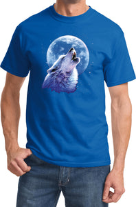 Buy Cool Shirts Wolf and Moon T-shirt Call of the Wild Tee