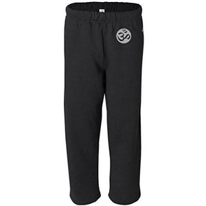 Mens OM Symbol Sweatpants with Pockets - Hip Print - Yoga Clothing for You - 1