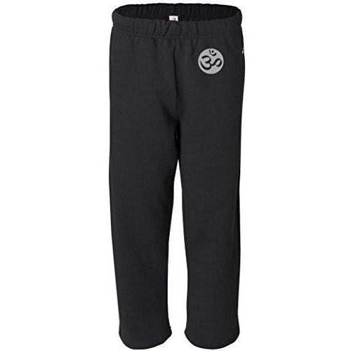 Yoga Clothing for You Mens OM Symbol Sweatpants with Pockets - Hip Print
