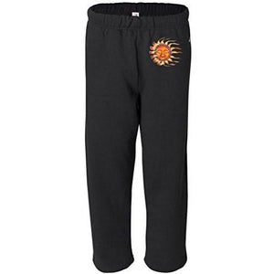 Mens Sleeping Sun Sweatpants with Pockets - Hip Print - Yoga Clothing for You - 2