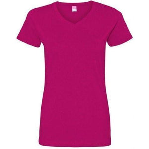 Women's Yoga V-neck Cotton T-Shirt - Yoga Clothing for You