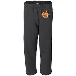 Mens Sleeping Sun Sweatpants with Pockets - Hip Print - Yoga Clothing for You - 3