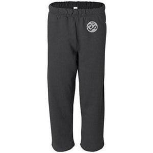 Mens OM Symbol Sweatpants with Pockets - Hip Print - Yoga Clothing for You - 2