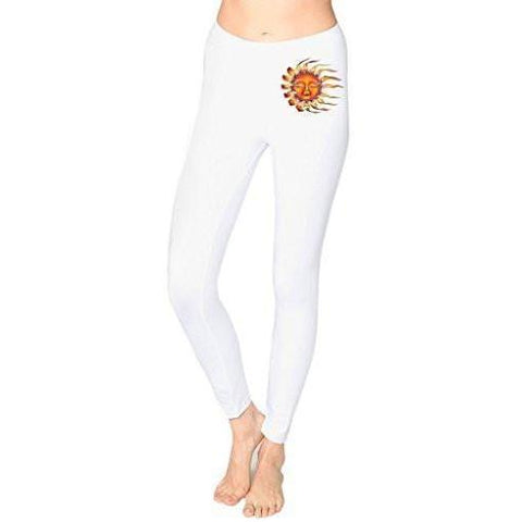 Yoga Clothing for You Ladies Sleeping Sun Cotton/Spandex Leggings