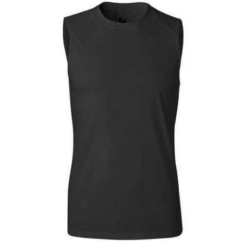 Yoga Clothing for You Men's Yoga Moisture Wicking Sleeveless Shirt