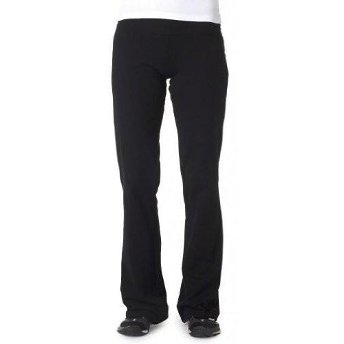 Womens Cotton/Spandex Yoga Pants - Yoga Clothing for You - 1