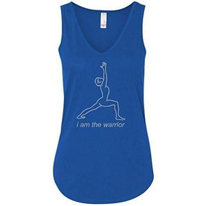 Womens Flowy Tank Top - Line Warrior - Yoga Clothing for You - 5