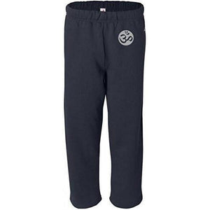 Mens OM Symbol Sweatpants with Pockets - Hip Print - Yoga Clothing for You - 3