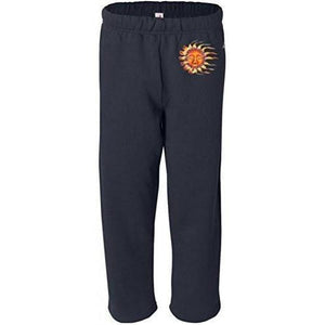 Mens Sleeping Sun Sweatpants with Pockets - Hip Print - Yoga Clothing for You - 4