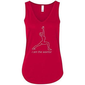 Womens Flowy Tank Top - Line Warrior - Yoga Clothing for You - 4