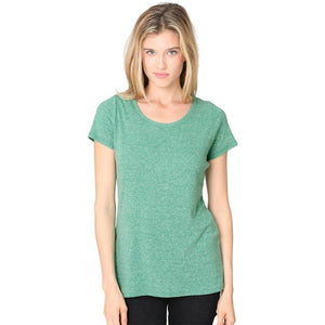 Ladies Recycled Triblend Yoga Tee Shirt - Yoga Clothing for You - 3