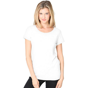 Ladies Recycled Triblend Yoga Tee Shirt - Yoga Clothing for You - 1