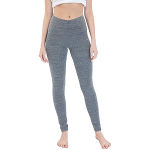 Ladies Eco Triblend Spandex Yoga Leggings - Yoga Clothing for You