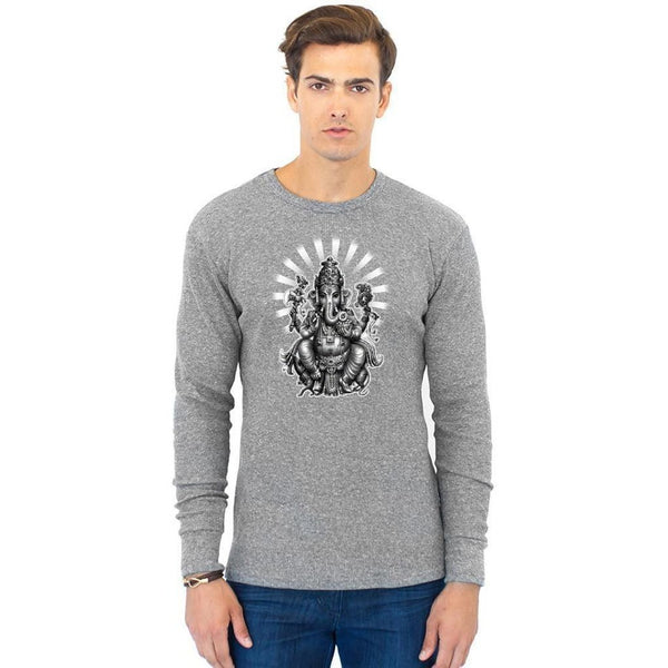 Yoga Clothing for You Men's Ganesh Eco Thermal Tee