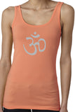 Ladies AUM Symbol Soft Yoga Tank Top