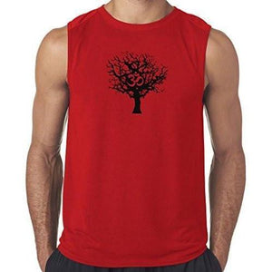 "Mens ""Tree of Life"" Muscle Tee Shirt - Yoga Clothing for You - 5"