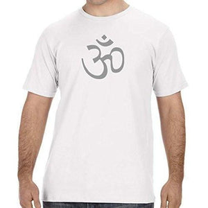Mens Aum OM Symbol Organic Tee Shirt - Yoga Clothing for You - 9