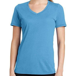 Womens V-neck Tee Shirt - Yoga Clothing for You - 1