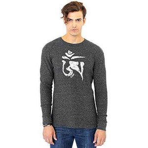 Men's Tibet OM Eco Thermal Tee - Yoga Clothing for You