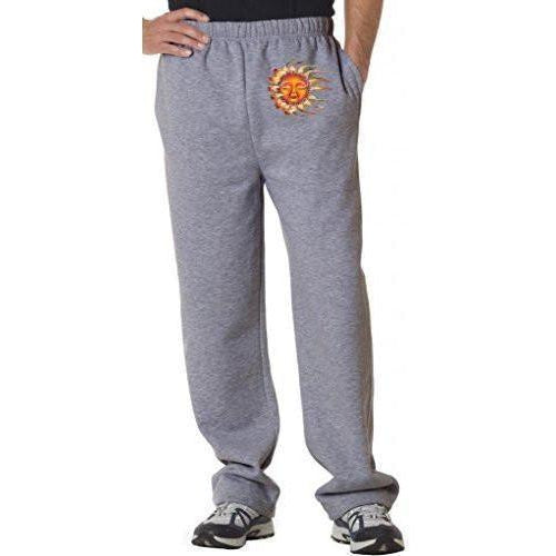 Mens Sleeping Sun Sweatpants with Pockets - Hip Print - Yoga Clothing for You - 1
