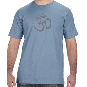 Mens Aum OM Symbol Organic Tee Shirt - Yoga Clothing for You - 6