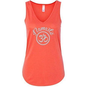 Womens Namaste OM Flowy Tank Top - Yoga Clothing for You - 5