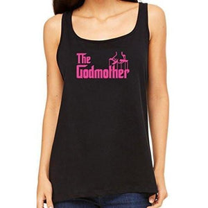 Womens The Godmother Relaxed Tank Top - Yoga Clothing for You - 1