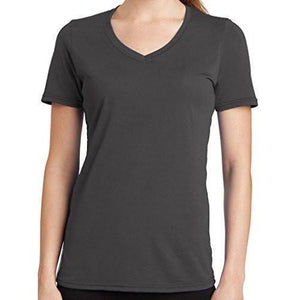 Womens V-neck Tee Shirt - Yoga Clothing for You - 2