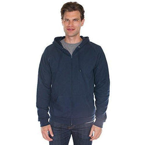 Men's Full Zip Organic Hoodie - Yoga Clothing for You - 3