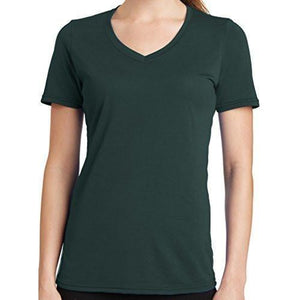 Womens V-neck Tee Shirt - Yoga Clothing for You - 3