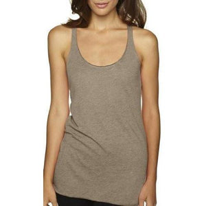 Womens Tri-Blend Racerback Yoga Tank Top - Yoga Clothing for You - 8