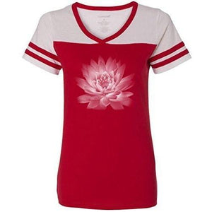 Womens Lotus Flower Tee Shirt - Yoga Clothing for You - 6