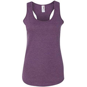 Womens Triblend Racer-back Yoga Tank Top - Yoga Clothing for You - 1