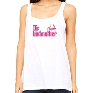Womens The Godmother Relaxed Tank Top - Yoga Clothing for You - 5