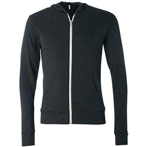 Mens Full-Zip Lightweight Hoodie - Yoga Clothing for You - 2