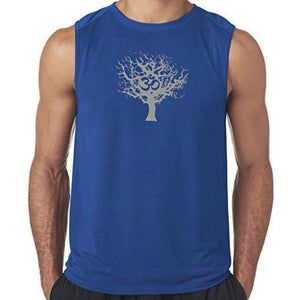"Mens ""Tree of Life"" Muscle Tee Shirt - Yoga Clothing for You - 6"