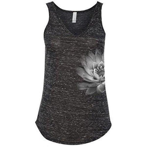 Womens Lotus Flower Flowy Tank Top - Yoga Clothing for You - 3