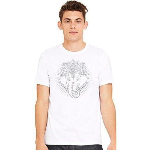 Men's Iconic Ganesha Yoga T-shirt - Yoga Clothing for You