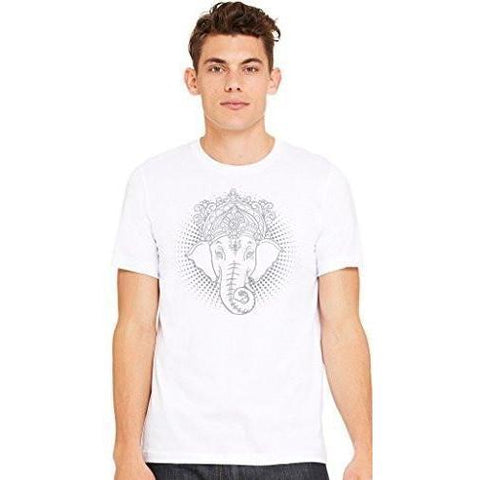 Yoga Clothing for You Men's Iconic Ganesha Yoga T-shirt