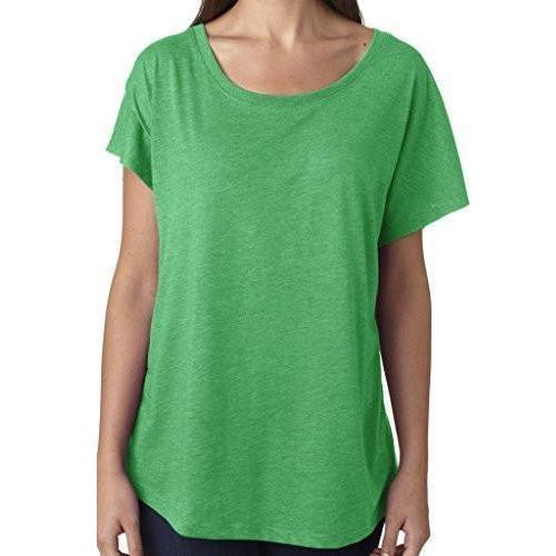 Womens TriBlend Dolman Tee Shirt - Yoga Clothing for You - 1