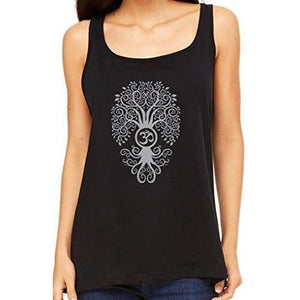 Womens Relaxed Fit Bodhi Tree Tank Top - Yoga Clothing for You - 1