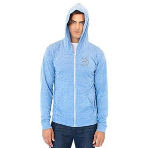 Men's Eco Hindu Patch Full Zip Hoodie - Yoga Clothing for You - 1