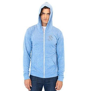 Men's Eco Hindu Patch Full Zip Hoodie - Yoga Clothing for You - 4
