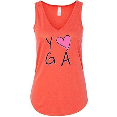 Womens Love Yoga Flowy Tanktop - Yoga Clothing for You
