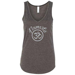 Womens Namaste OM Flowy Tank Top - Yoga Clothing for You - 6