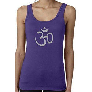 Ladies AUM Symbol Soft Yoga Tank Top - Yoga Clothing for You