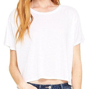 Womenss Flowy Boxy Tee Shirt - Yoga Clothing for You - 5