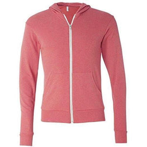 Mens Full-Zip Lightweight Hoodie - Yoga Clothing for You - 8
