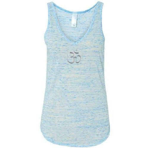 Yoga Clothing for You Womens Hindu Flowy V-Neck Tank Top