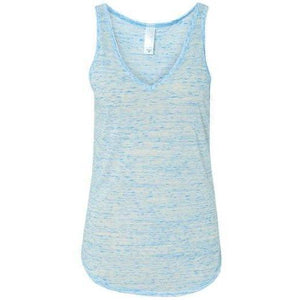 Women's Yoga Flowy V-Neck Tank Top - Yoga Clothing for You - 1